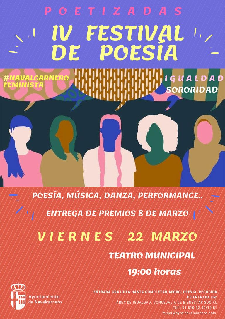 POETIZADAS, IV FESTIVAL DE POESÍA