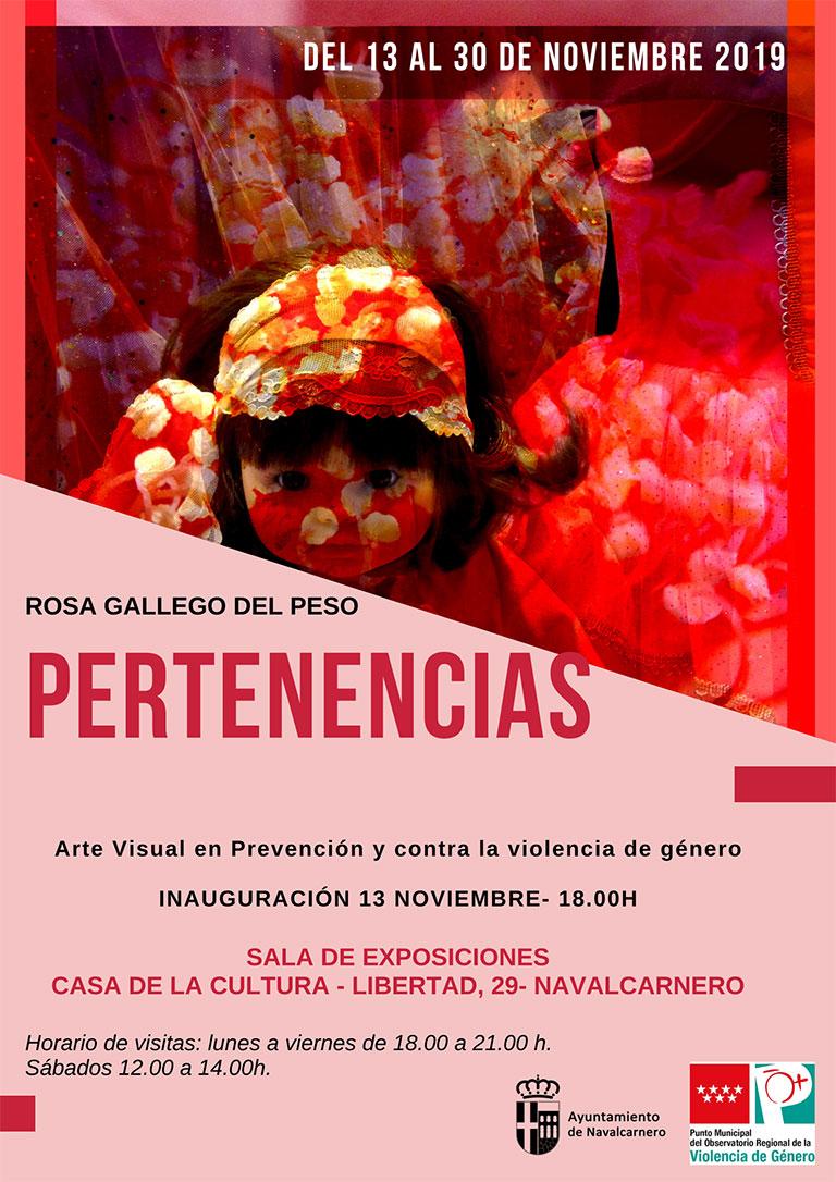 ARTE VISUAL EN PREVENCIÓN Y CONTRA LA VIOLENCIA DE GÉNERO PERTENENCIAS-2019