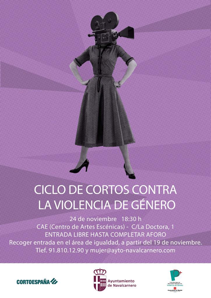 CICLO DE CORTOS CONTRA LA VIOLENCIA DE GÉNERO