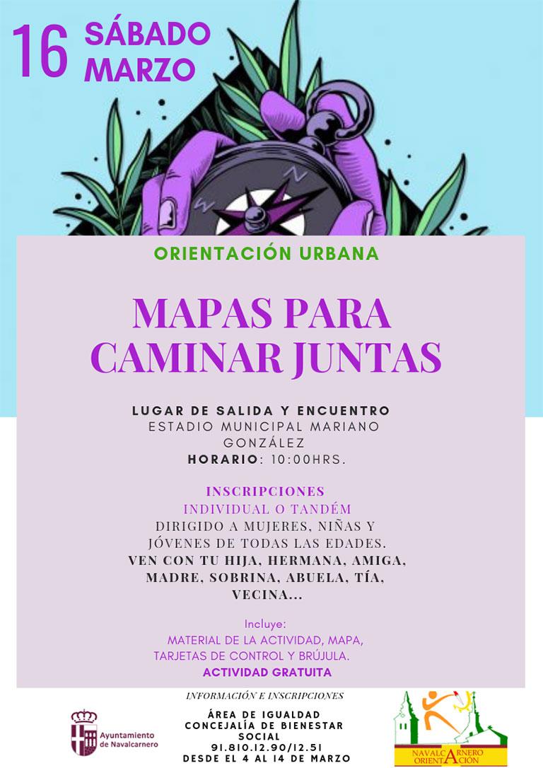 ORIENTACIÓN URBANA - MAPAS PARA CAMINAR JUNTAS