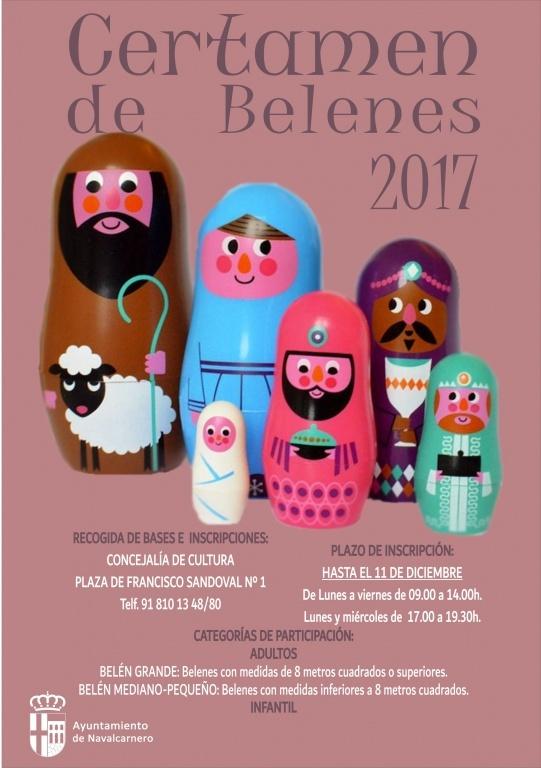 CARTEL CERTAMEN DE BELENES 2017