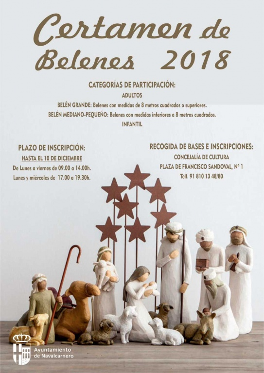 CERTAMEN DE BELENES NAVIDADES 2018