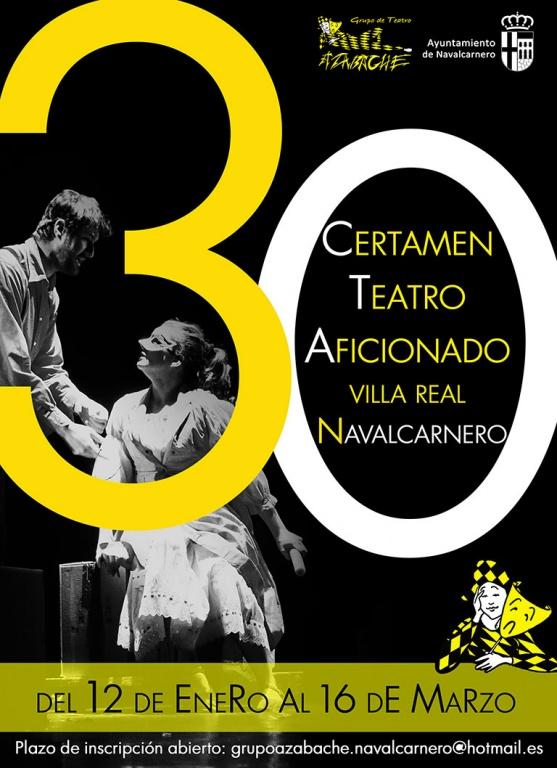XXX CERTAMEN DE TEATRO AFICIONADO DE NAVALCARNERO 2019