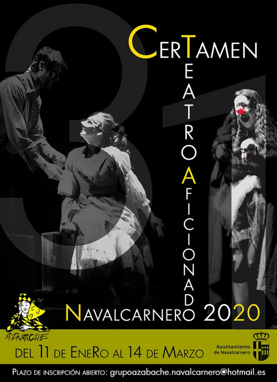 XXXi CERTAMEN DE TEATRO AFICIONADO DE NAVALCARNERO 2020