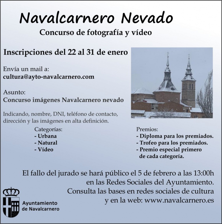 CONCURSO NAVALCARNERO NEVADO