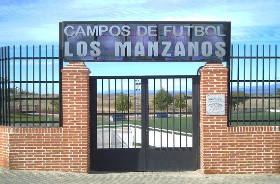 """CAMPO DE FÚTBOL """"LOS MANZANOS"""" - ENTRADA"""