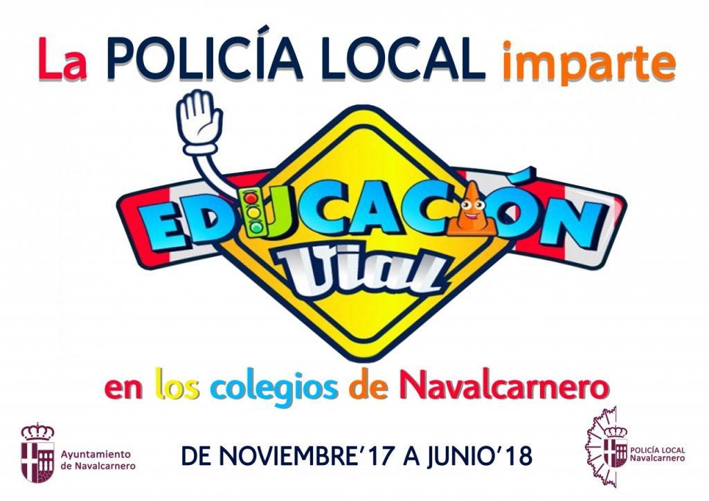 policía local educación vial