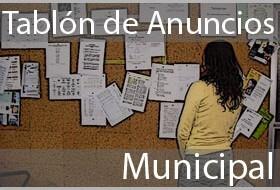 Tablón de Anuncios Municipal