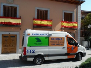 SUMNA - PROTECCIÓN CIVIL DE NAVALCARNERO (AMBULANCIA)