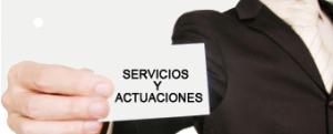 SERVICIOS Y ACTUACIONES